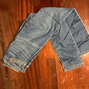 Girl's denim blue jeans (Brand New, Never worn)